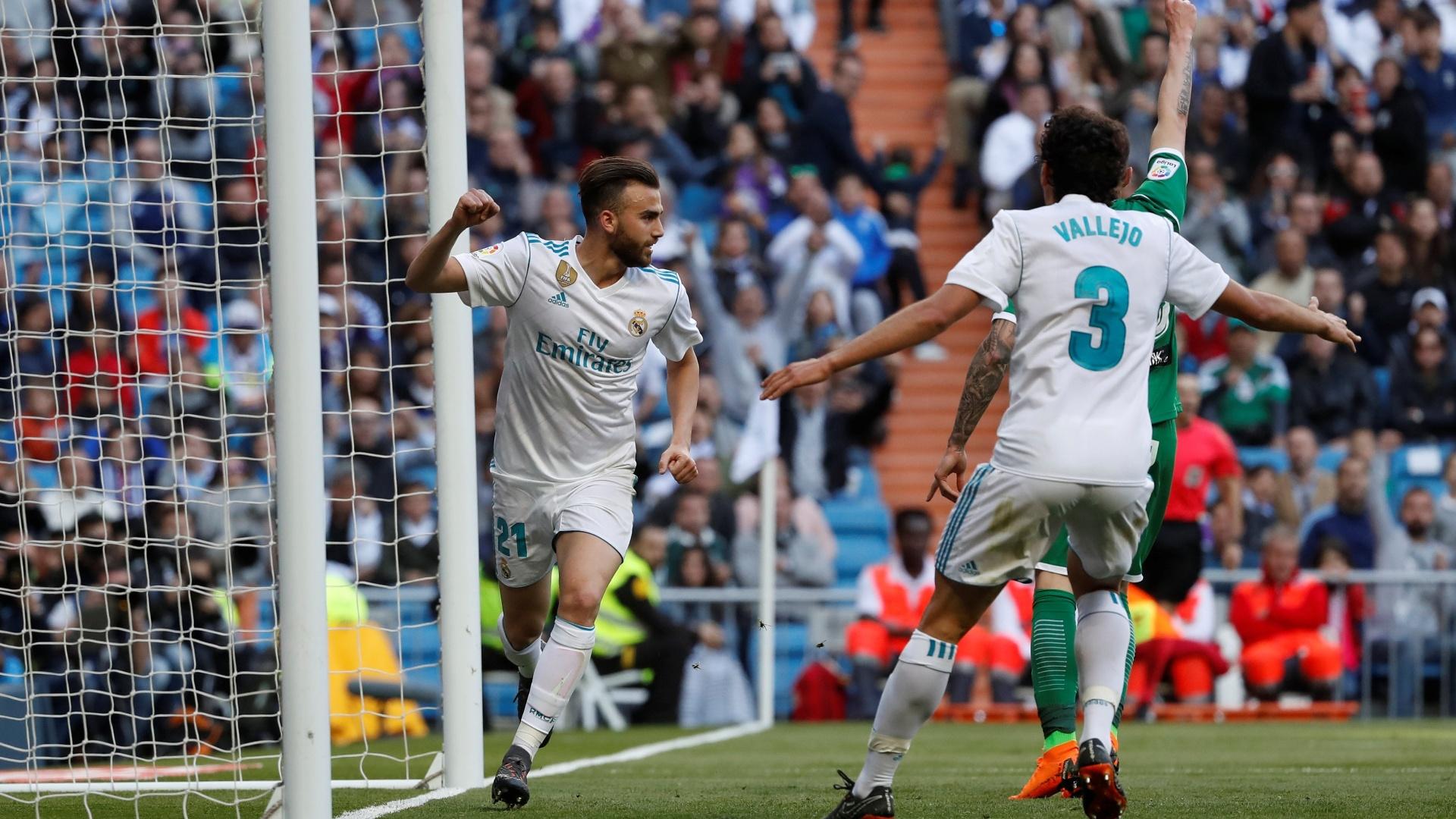 Borja Mayoral aproveita a oportunidade e marca o segundo gol do Real Madrid