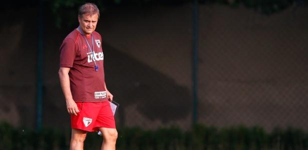O técnico do São Paulo, Diego Aguirre - Marcello Zambrana/AGIF