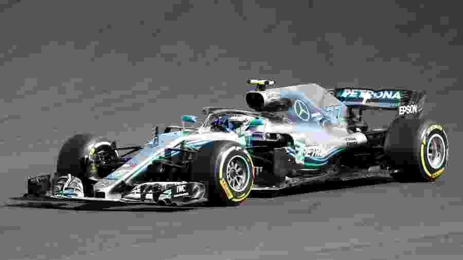 Valtteri Bottas durante o GP da Hungria de Fórmula 1 - Bernadett Szabo/Reuters