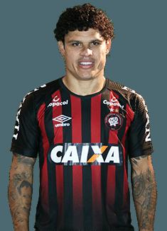 Márcio Gonzaga de Azevedo, lateral do Atlético-PR