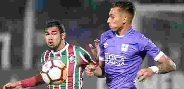 """Sornoza está focado na sequência de """"decisões"""" do Fluminense - REUTERS/Javier Calvelo"""