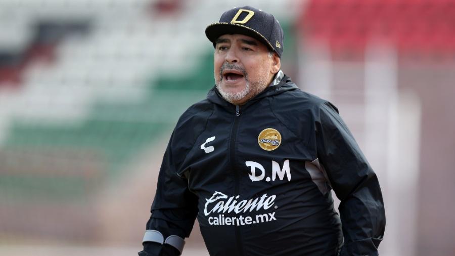 Em série de TV biográfica, Diego Maradona interpretado por três atores diferentes - Refugio Ruiz/Getty Iamges