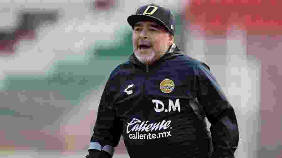 Diego Maradona utilizou as redes sociais para criticar decisão de Riquelme - Refugio Ruiz/Getty Images