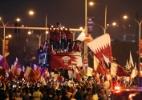 Jogadores do Qatar são recebidos com festa após conquistarem Copa da Ásia - IBRAHEEM AL OMARI/REUTERS
