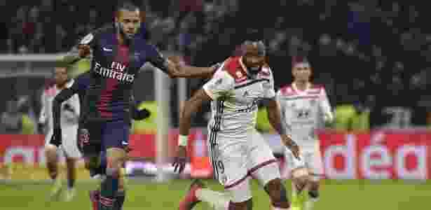 PSG e Lyon se enfrentaram pela 23ª rodada do Campeonato Francês - ROMAIN LAFABREGUE / AFP - ROMAIN LAFABREGUE / AFP
