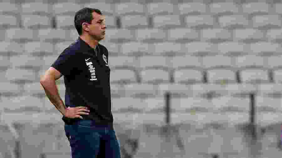 Fábio Carille comanda o Corinthians em jogo contra o Fortaleza pelo Brasileirão -  Rodrigo Gazzanel/Ag. Corinthians