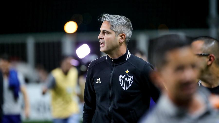 Rodrigo Santana comandou o Atlético-MG em 41 partidas na temporada 2019 - Bruno Cantini / Atletico