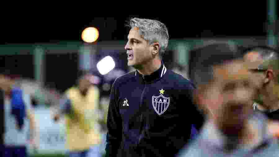 Rodrigo Santana, técnico do Atlético-MG, foi bastante contestado pela torcida contra o Ceará - Bruno Cantini / Atletico