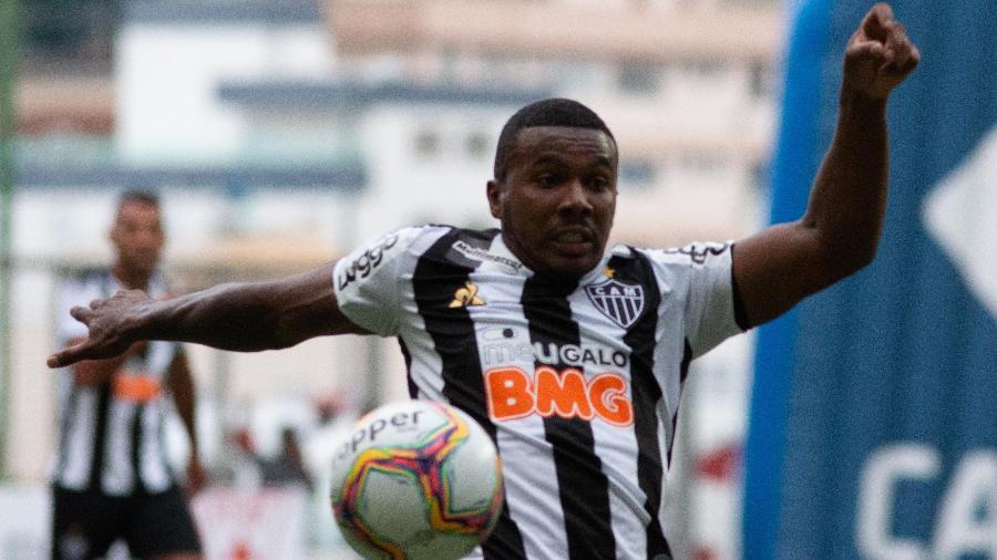 Marquinhos, do Atletico-MG, durante o jogo contra o Tombense, pelo Campeonato Mineiro  - Fernando Moreno/Fernando Moreno/AGIF