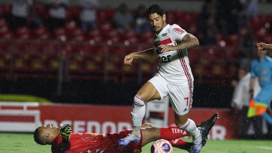 Alexandre Pato está perto de deixar o São Paulo e voltar ao Internacional - Rubens Chiri/saopaulofc.net