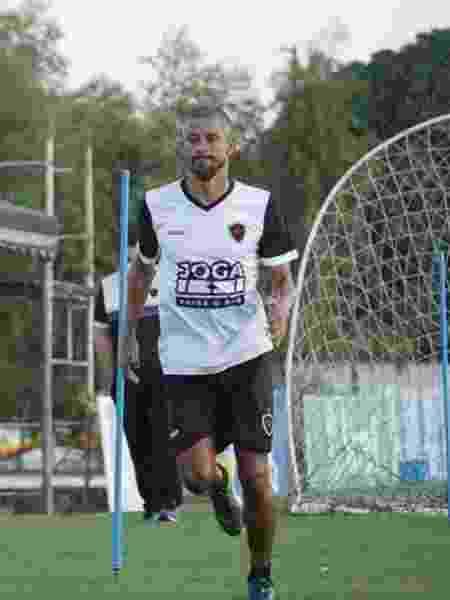 Léo Moura sai do Botafogo-PB após passagem controversa em que só jogou sete vezes - Divulgação