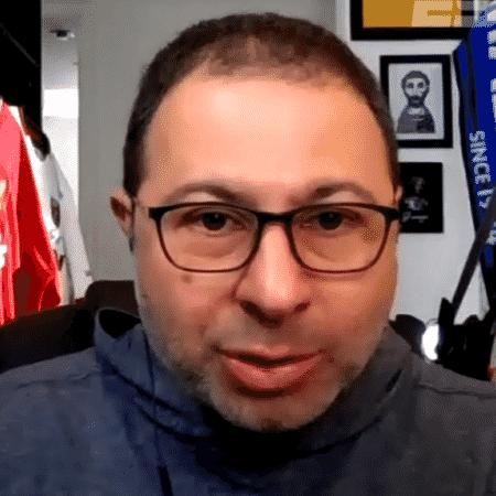 Mario Marra, comentarista dos canais ESPN - Reprodução/ESPN Brasil