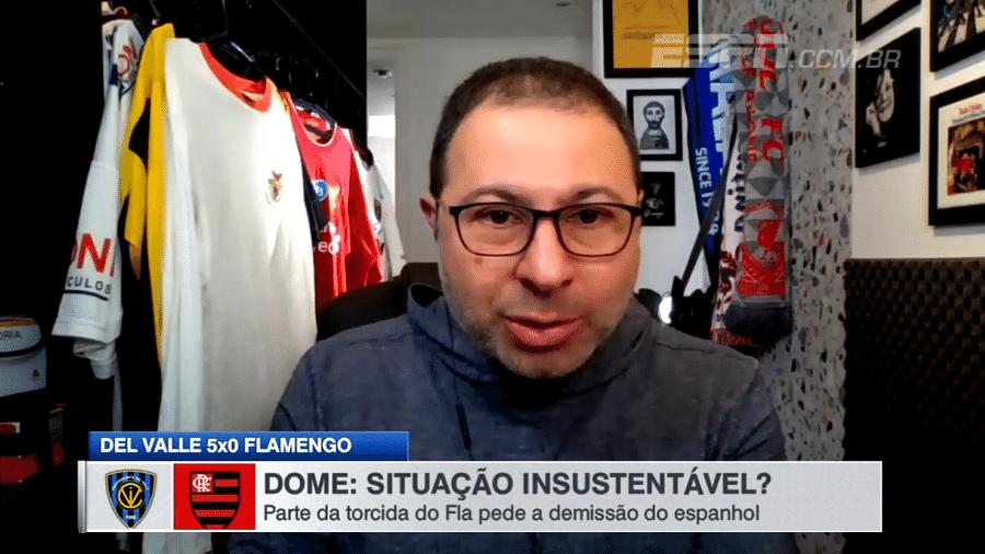 Mario Marra, comentarista dos canais ESPN: contrato renovado - Reprodução/ESPN Brasil