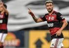 Convocado pelo Uruguai, Arrascaeta pode desfalcar o Flamengo em clássico e outros dois jogos (Foto: Thiago Ribeiro/AGIF)