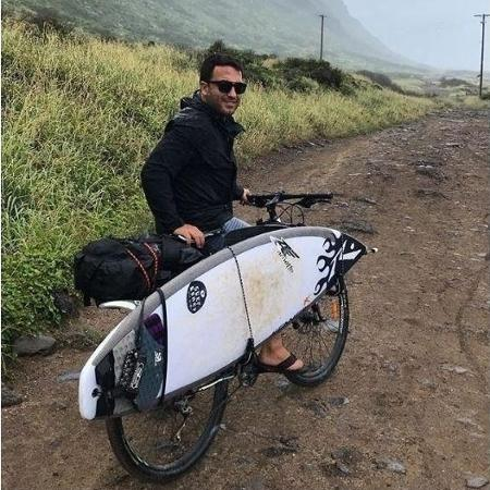 Surfista Felipe Cesarano, o Felipe Gordo, causou acidente com morte de um sargento da Marinha - Reprodução/Instagram