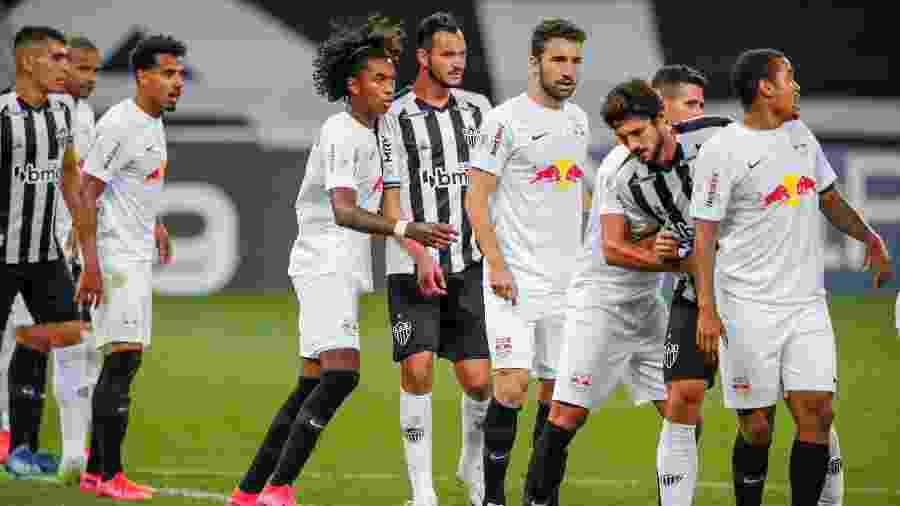 No primeiro turno o Galo venceu o Bragantino e abria ali sua maior sequência de vitórias consecutivas no Brasileirão - Bruno Cantini/Atlético-MG