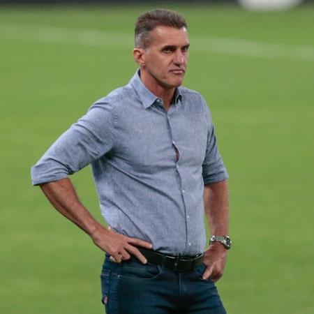 Vagner Mancini comanda o Corinthians em partida contra o Sport - Marcello Zambrana/AGIF