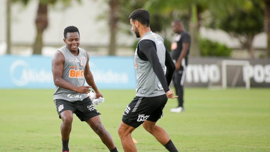 Cazares é a principal dúvida do Corinthians para enfrentar o Santos na Vila Belmiro  - Rodrigo Coca/ Ag. Corinthians