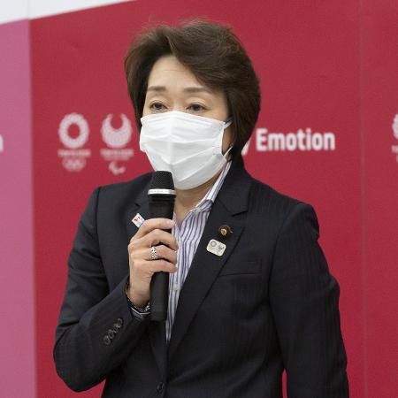 Hashimoto Seiko, a nova presidente do Comitê Organizador dos Jogos Olímpicos de Tóquio - Yamazaki Yuichi/Pool via Xinhua