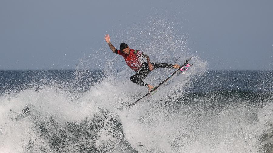 Gabriel Medina, representante do Brasil na Olimpíada de Tóquio, vence a etapa de Narrabeen - LOREN ELLIOTT/REUTERS