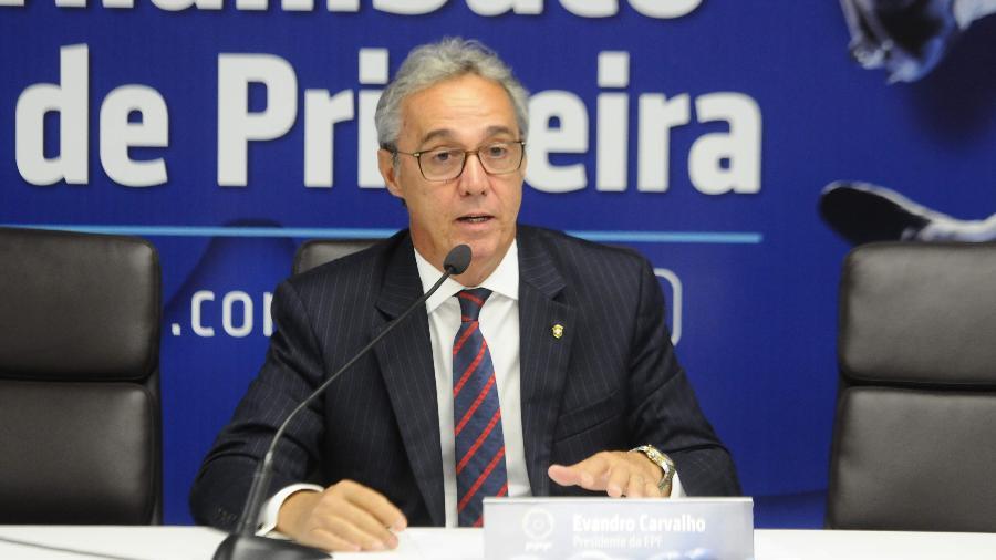 Federação Pernambucana, presidida por Evandro Carvalho, foi a primeira a adotar o sistema - Divulgação
