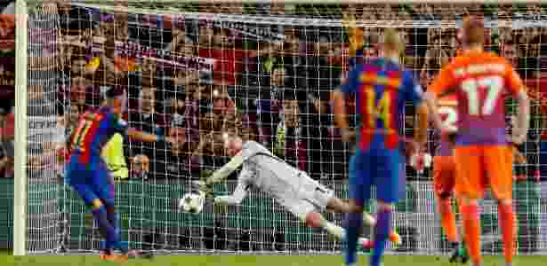 Neymar perde pênalti - John Sibley/Reuters - John Sibley/Reuters