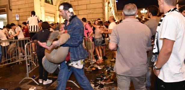 Tumulto durante final da Liga dos Campeões deixou 1527 feridos, segundo a Prefeitura de Turim