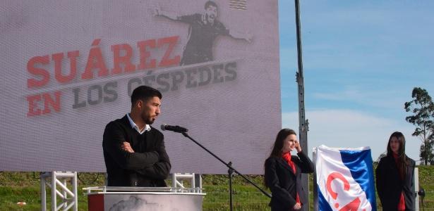 Luis Suárez é homenageado pelo Nacional, clube que o revelou