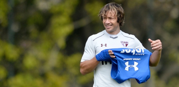 Lugano não jogou nenhuma partida sob o comando de Dorival Júnior