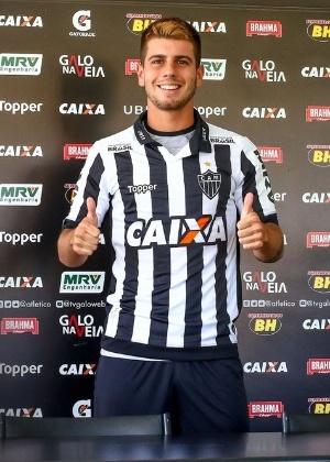 Tomás Andrade foi emprestado pelo River Plate ao Atlético-MG até o fim de 2018
