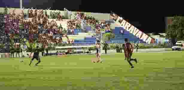 Jogo entre Jacuipense e Vitória iniciou na quarta (foto) e terminou nesta quinta - André Hiltner/EC Vitória