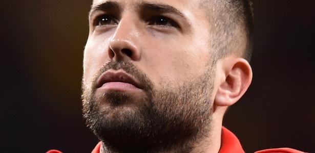 Jordi Alba (foto) está de volta à seleção, agora sob o comando de Luis Enrique - Denis Doyle/Getty Images