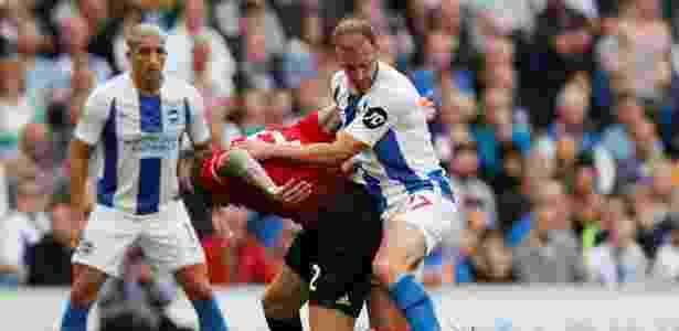 United não conseguiu se encontrar na partida deste domingo - David Klein/Reuters