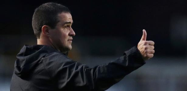 André Jardine assumiu o comando do time do São Paulo após a saída de Diego Aguirre - REUTERS/Paulo Whitaker
