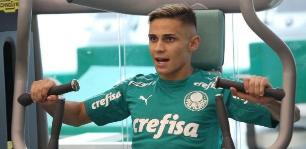 Raphael Veiga, destaque do Atheltico em 2018, voltou ao Palmeiras - Cesar Greco/Ag. Palmeiras/Divulgação