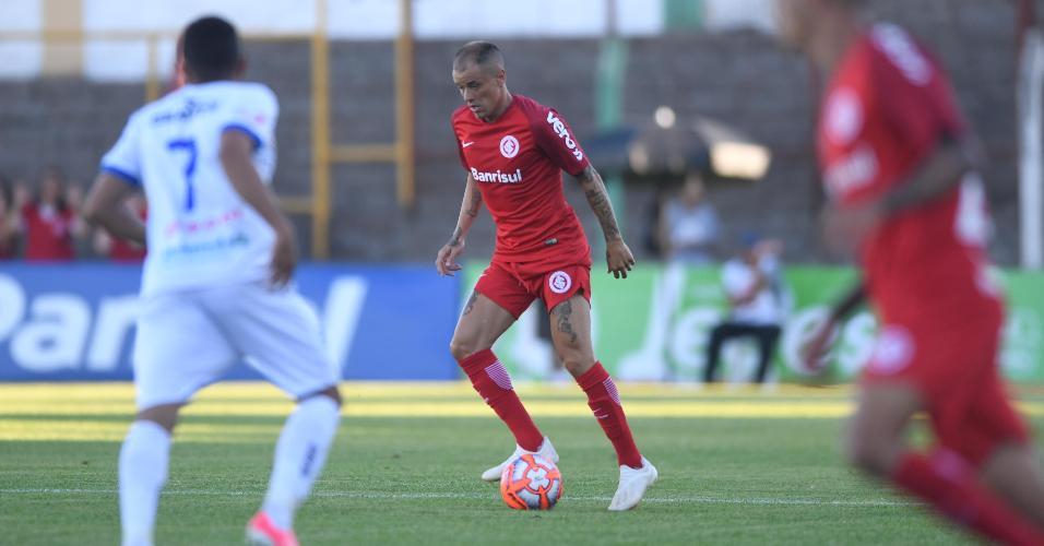 D'Alessandro, durante partida entre Inter e Veranópolis