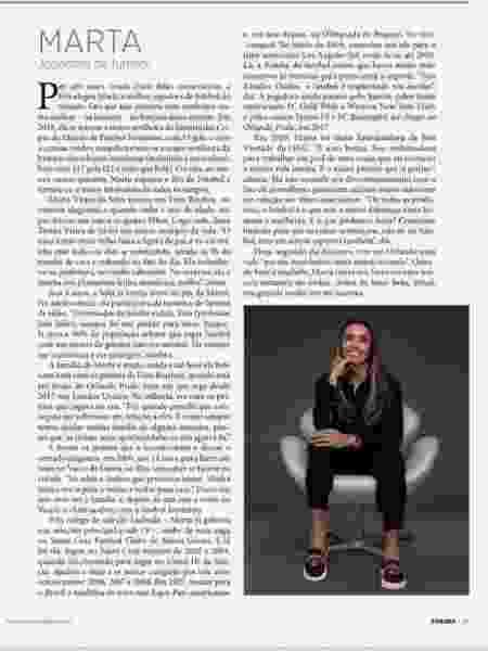 Marta na Forbes - @martasilva10/Instagram - @martasilva10/Instagram