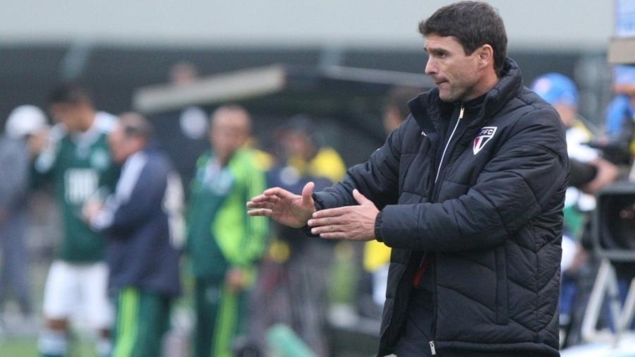 Sérgio Baresi, quando dirigia a equipe profissional do São Paulo - André Vicente/Folhapress