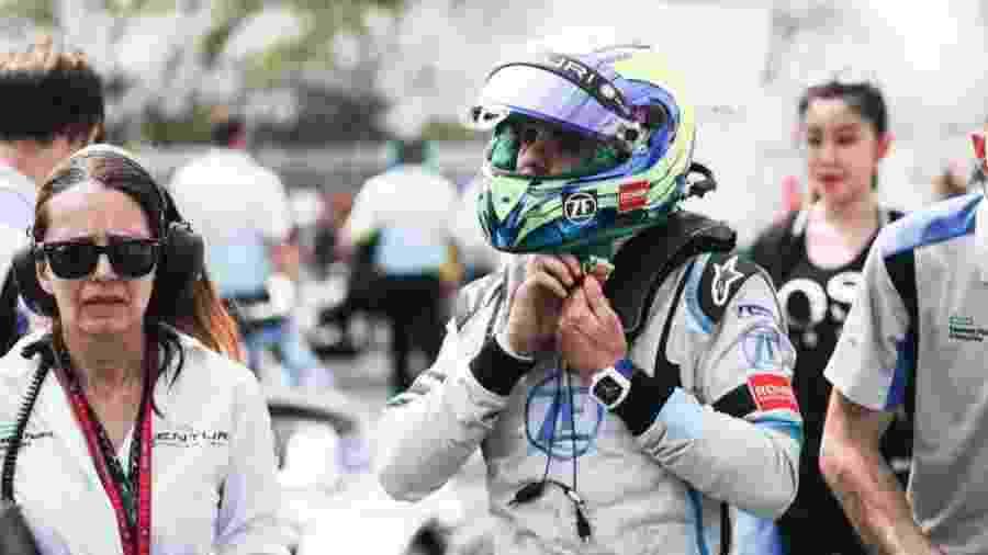 Brasileiro foi o terceiro colocado no ePrix de Mônaco com a equipe Venturi - Divulgação/Venturi