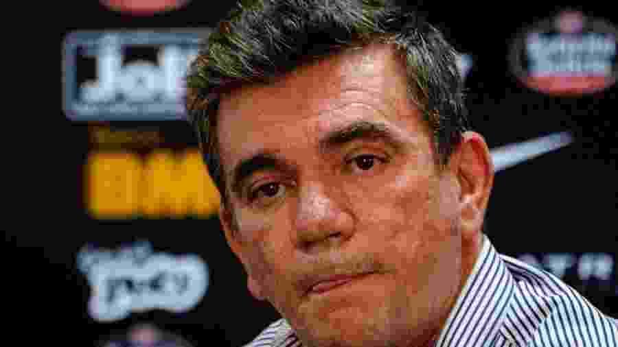 Andrés Sanchez, presidente do Corinthians, revelou acordo com a construtora no Conselho Deliberativo - GERO RODRIGUES/O FOTOGRÁFICO/ESTADÃO CONTEÚDO