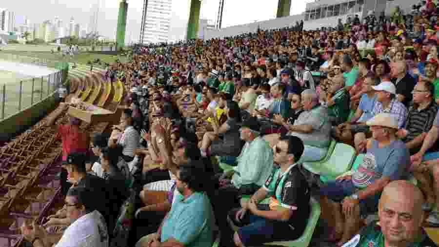 Estádio Willie Davids, em Maringá, receberia abertura do Grupo A17 da Série D às 17h - Reprodução/Facebook