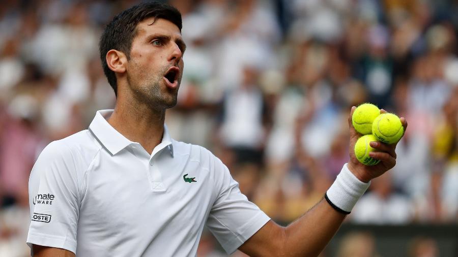 Djokovic demonstrou preocupação com o clima no país  - Adrian DENNIS / POOL / AFP