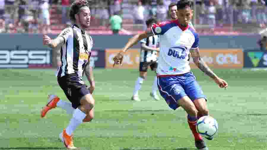 Atlético-MG e Bahia se enfrentam pelo Campeonato Brasileiro - Fernando Moreno/AGIF