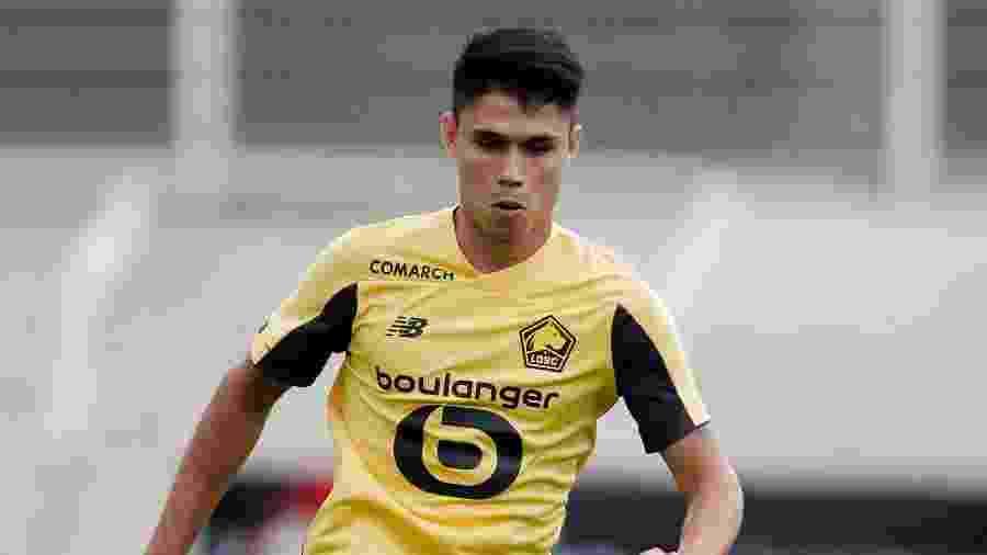 Luiz Araujo, jogador do Lille - Erwin Spek/Soccrates/Getty Images
