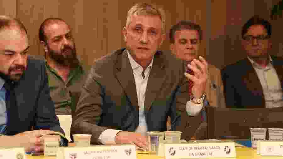 Presidente Alexandre Campello adotou medida polêmica no quadro social e agitou bastidores políticos do Vasco - Thais Magalhães/CBF
