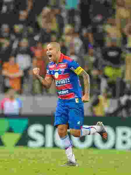 Wellington Paulista é o homem gol do Fortaleza - SAMUEL ANDRADE/MYPHOTO PRESS/ESTADÃO CONTEÚDO