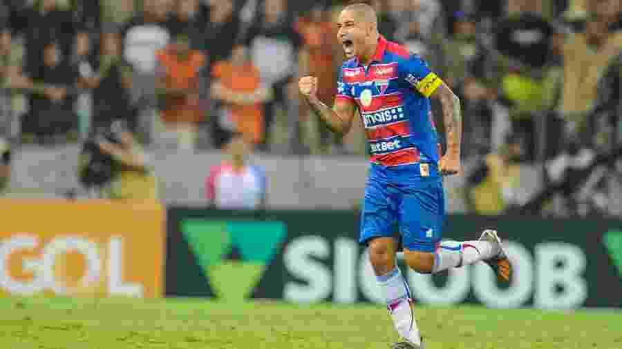 O que manteve o Fortaleza na primeira divisão foi o aproveitamento das chances criadas - SAMUEL ANDRADE/MYPHOTO PRESS/ESTADÃO CONTEÚDO