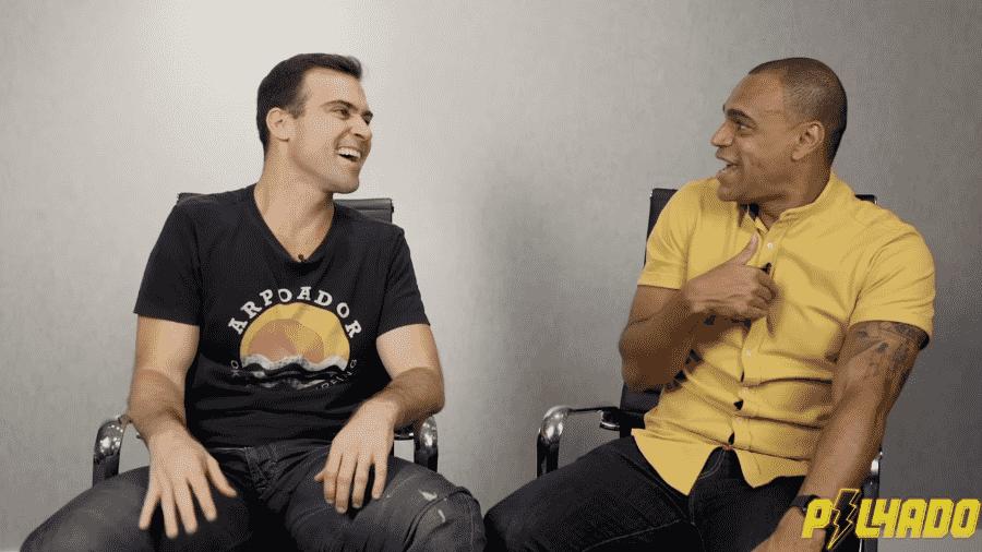 Thiago Asmar entrevista Denílson para seu canal no Youtube - Reprodução/Youtube