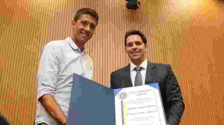 Ex-jogador do Guarani e da Ponte, técnico nascido em Valinhos recebeu o título de cidadão campineiro - Divulgação
