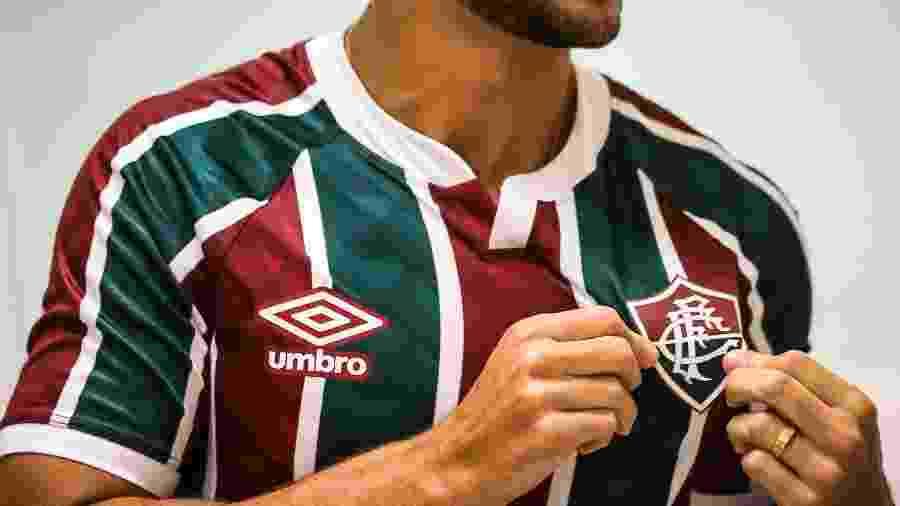Nova camisa do Fluminense foi lançada pela Umbro - Divulgação/Fluminense